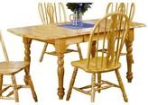 Gonzalez Drop Leaf Extension Dining Table Rosalind Wheeler Finish: Rich Honey Light Oak
