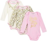 Juicy Couture 3-Pack Bodysuits