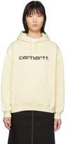 Carhartt Work In Progress Off-White Logo Hoodie