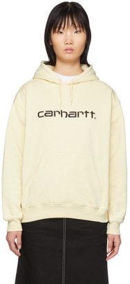 Carhartt Work In Progress Off-White Logo Hoodie