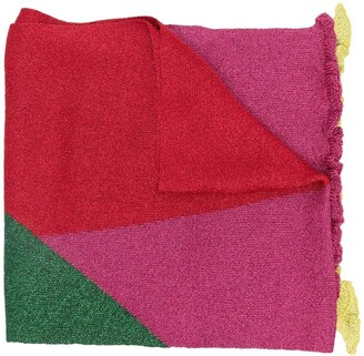 M Missoni Colour-Block Knit Scarf