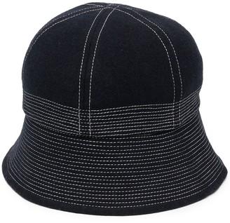 YMC Gilligan flannel bucket hat