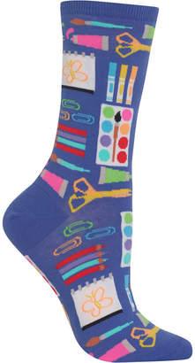 Hot Sox Women Art Supplies Socks