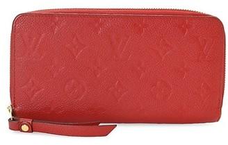 Vintage Louis Vuitton Monogram Empriente Leather Zippy Wallet