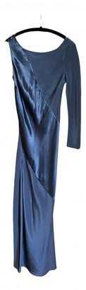 Agent Provocateur Grey Silk Dresses