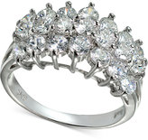Giani Bernini Cubic Zirconia Cluster Ring in Sterling Silver, Only at Macy's