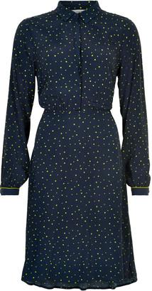 Nümph Nuailish Sapphire Dress 7220810 - 10 | viscose | blue - Blue/Blue