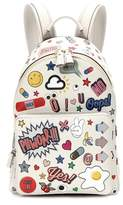 Anya Hindmarch All Over Wink Mini leather backpack