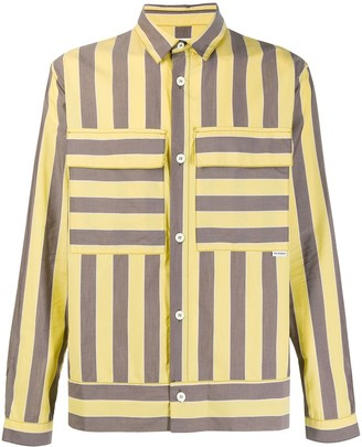 Sunnei Arman striped print shirt