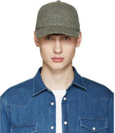 Larose Grey Lambswool Baseball Cap
