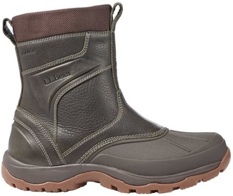 L.L. Bean Men's Storm Chaser Boots 5, Pull-On Zip