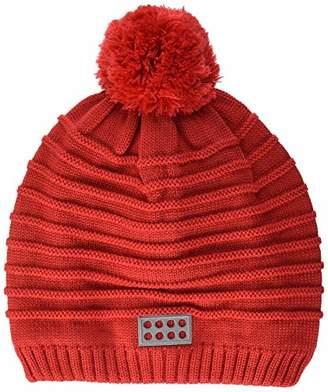 Lego Wear Girl's Unisex Lwalfred 722-Strickmütze Hat, Red 361, (Size: 48)