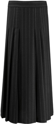 Brunello Cucinelli Pleated High-Waisted Skirt