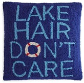 "Peking Handicraft Lake Hair Don't Care Decorative Pillow, 16"" x 16"""