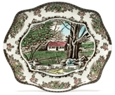 Johnson Bros. Friendly Village Bless This Home Tray, 11 1/2""