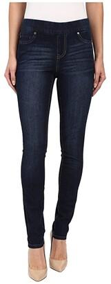 Liverpool Sienna Pull-On Contour 4-Way Stretch Super Skinny Jean Leggings in Corvus Dark (Corvus Dark) Women's Casual Pants