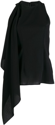 Ami Front Panel Blouse