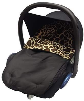 Graco Fit Animal Print Padded Car Seat Footmuff/Cosy Toes Junior/Logico Giraffe