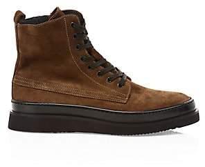 Aquatalia Men's Corbin Lace-Up Suede Boots