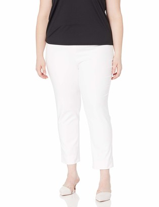 Nic+Zoe Women's Plus Size Perfect Pant Side Zip Ankle Length