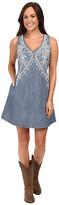 Stetson 6 Oz Denim Sleeveless Dress