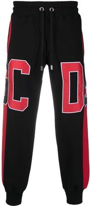 GCDS Colour-Block Logo Track Trousers