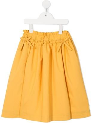 Familiar Flared Mini Skirt