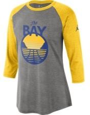Jordan Golden State Warriors Women's Three Quarter Statement Raglan Shirt