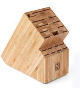 N. Cook Home Cook Home Bamboo 19 Slot Knife Storage Block