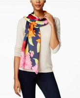 Echo Floral Oblong Scarf