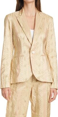 Polo Ralph Lauren Silk Jacquard Blazer
