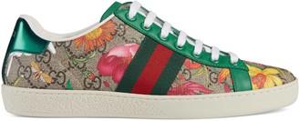 Gucci Women's Online Exclusive Ace GG Flora print sneaker