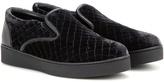 Bottega Veneta Velvet Sneakers