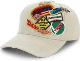 Dsquared2 Acc Pure Cotton Motorsport Badge Baseball Cap