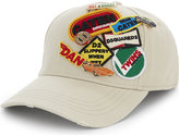 Dsquared2 Pure Cotton Motorsport Badge Baseball Cap