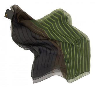 Fendi Green Silk Scarves