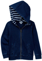 Splendid Indigo Zip Front Hoodie (Little Boys)