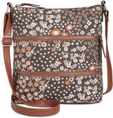 Style&Co. Style & Co Vyniisha Printed Multi Zip Crossbody, Created for Macy's