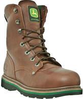 "John Deere Men's Boots 8"" Steel Toe Lace-Up 8393 Boot Boots"