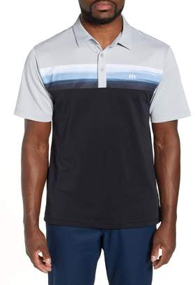 Travis Mathew Wiz With Colorblock Polo