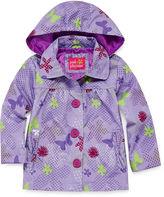 Pink Platinum Rain Jacket - Toddler Girls 2t-4t