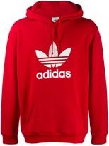Trefoil logo hoodie