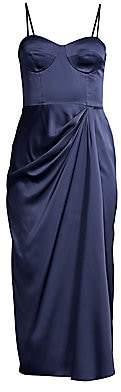 Flor Et. Al Women's Wallis Satin Bustier Dress