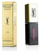 Saint Laurent NEW Rouge Pur Couture Vernis A Levres Pop Water Glossy Stain