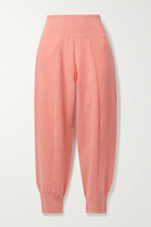 Thumbnail for your product : Stella McCartney Wool Track Pants - Coral