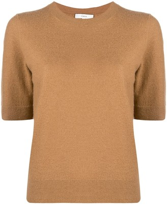 Vince Knitted Cashmere T-Shirt