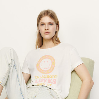 Sandro T-shirt with flocked motif