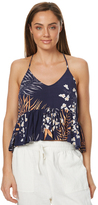 Rusty Orient Cami Top Blue