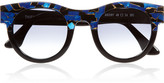 Thierry Lasry Agony D-frame acetate sunglasses