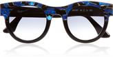Agony D-frame acetate sunglasses